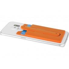 Футляр для кредитных карт с держателем мобильного