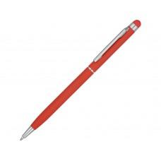 Ручка-стилус металлическая шариковая Jucy Soft soft-touch