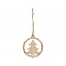 Деревянная подвеска Natall в форме елки