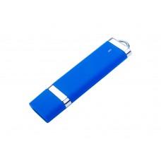 USB 2.0- флешка на 4 Гб Орландо, soft-touch