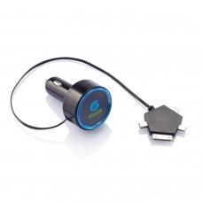 Универсальное  автомобильное зарядное устройство, 2,1А