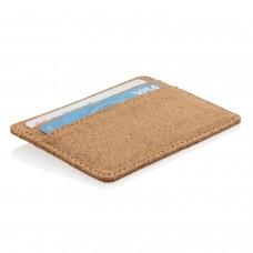 Эко-кошелек Cork c RFID защитой